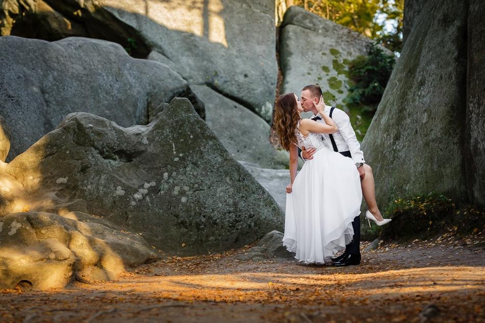 Sesja ślubna na Prządkach