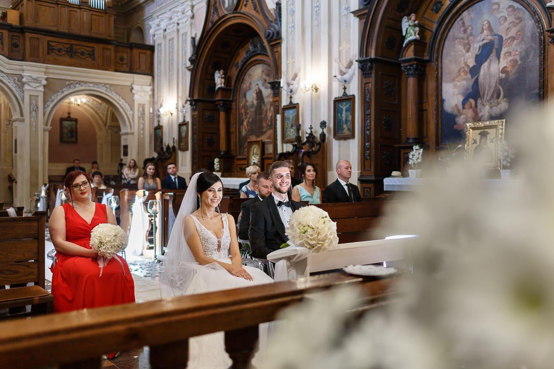 ślub u kapucynów w Krośnie